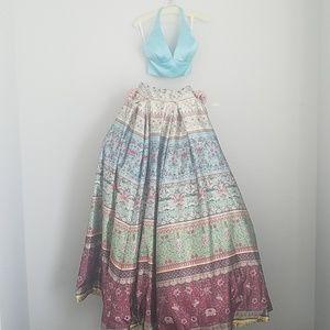 Prom 2 piece sherri hill ballgown